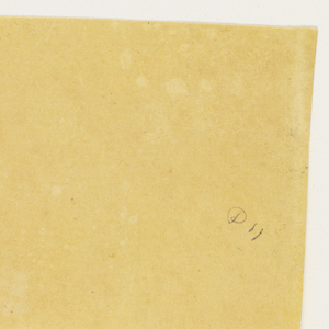 Paper sample in yellow.