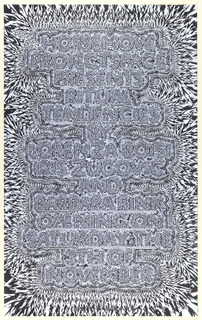 Poster, HorseProjectSpace Presents: Ritual Tendencies