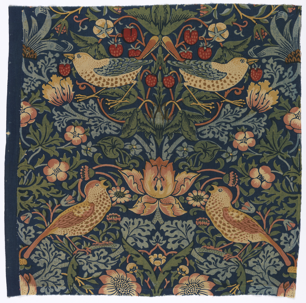 Textile, The Strawberry Thieves, 1883