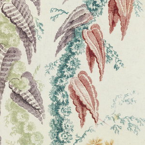 Floral motif of various stems and leaves.