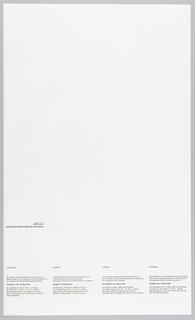 Poster, Ontwerpen van Tanaka, Ikko  [Ikko Tanaka Graphics]