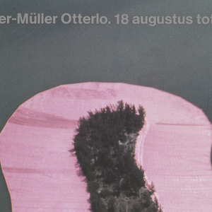 Exhibition poster for Unisto: Surrounded Islands at Rijksmuseum Kroller-Muller, Otterlo.