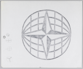 Drawing, Design for Citibank/Citicorp Logo