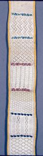 Twenty four designs, twenty-four bands of beadwork.