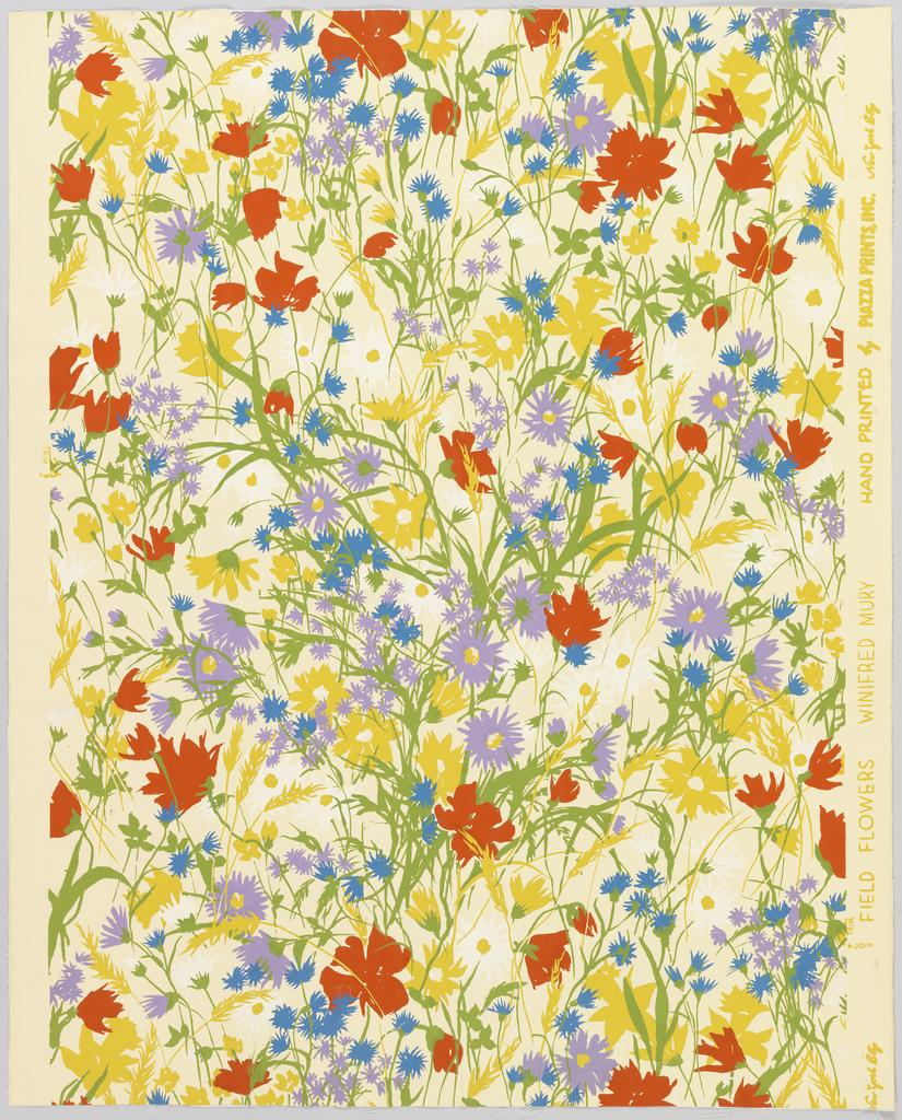 Sidewall, Field Flowers
