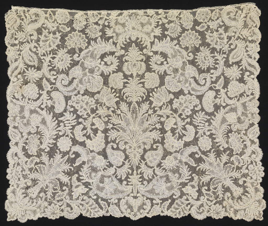 Cravat End (Belgium), early 18th century