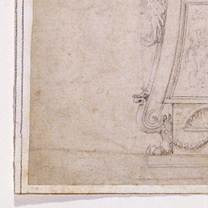 Drawing, Design for a Candlestick