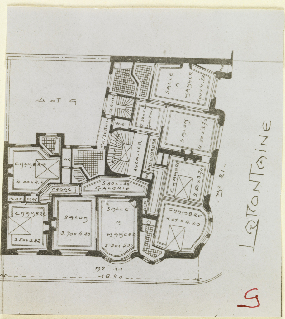 Photograph photograph of a floor plan of an apartment building