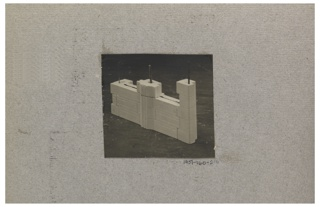 Photograph, Photograph of the Construction of a Mass-operational House Designed by Hector Guimard (No. 6)