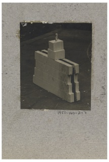 Photograph, Photograph of the Construction of a Mass-operational House Designed by Hector Guimard (No. 7)