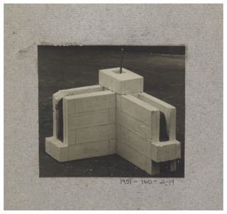 Photograph, Photograph of the Construction of a Mass-operational House Designed by Hector Guimard (No. 14)