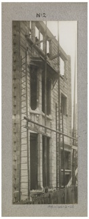 Photograph, Photograph of the Construction of a Mass-operational House Designed by Hector Guimard (No. 28)