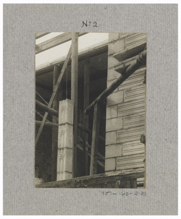 Photograph, Photograph of the Construction of a Mass-operational House Designed by Hector Guimard (No. 33)