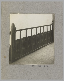 Photograph, Photograph of the Construction of a Mass-operational House Designed by Hector Guimard (No. 42)