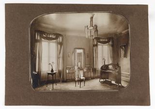 Photograph, Partial View of Mme Guimard's Bedroom, Hôtel Guimard, 122 rue Mozart, Paris XVI