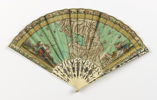 Pleated Fan (France), 1793–1803