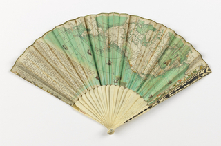 Pleated Fan (France), 1793–1803