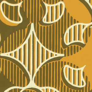 A large-scale pattern of repeating quatrefoil motifs.