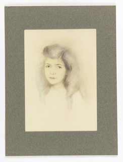 Portrait of young girl.