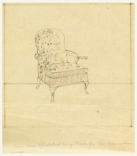 Design for chair.