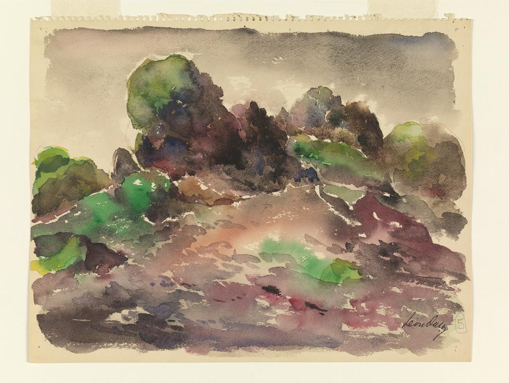 Drawing, Landscape