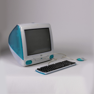 iMac Computer With Keyboard And Mouse