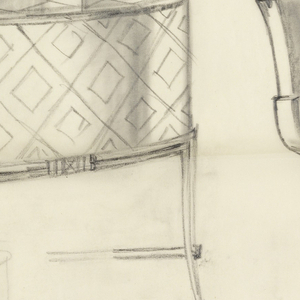 Design for a chafing dish, and partial of a second one.