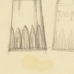 4 designs for salt or pepper shakers.