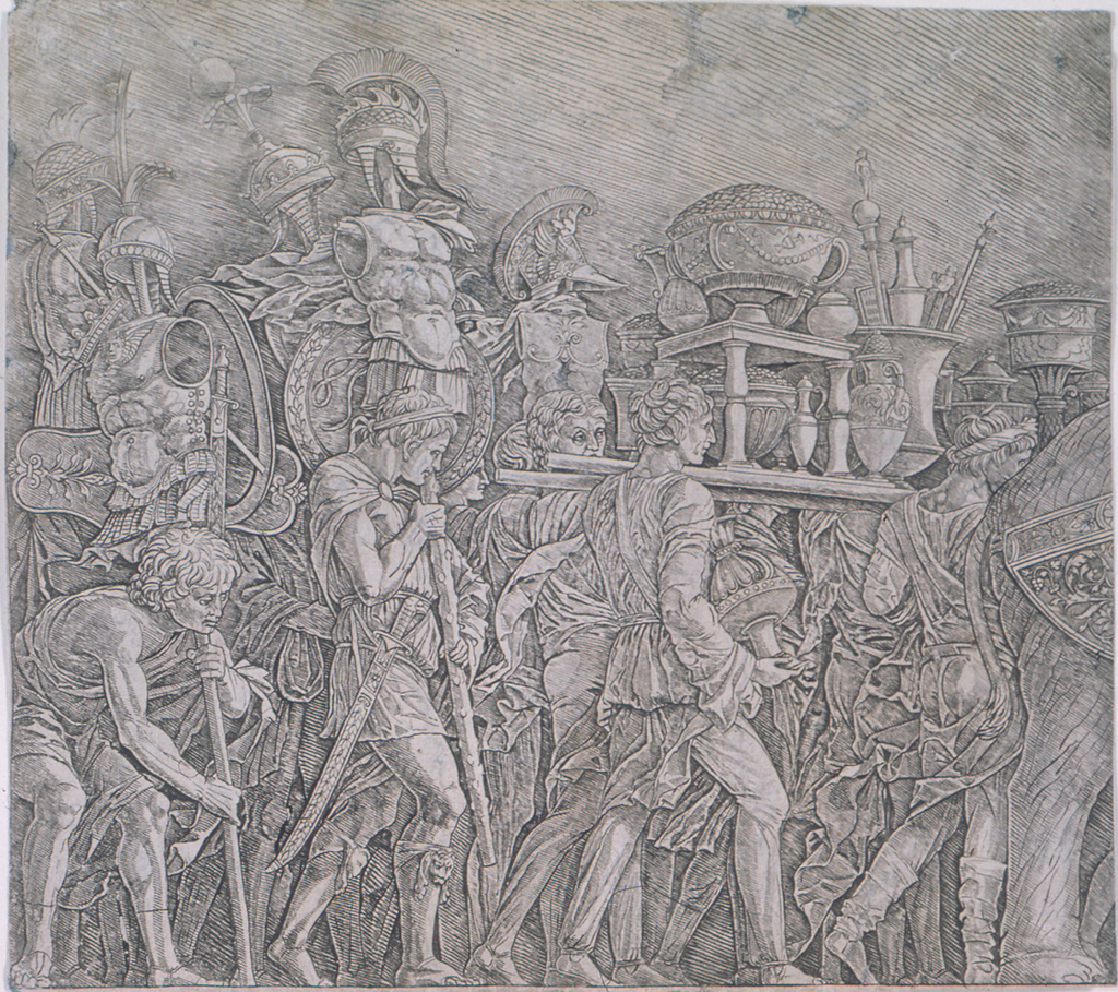 Print, Triumph of Caesar: The Corselet Bearers