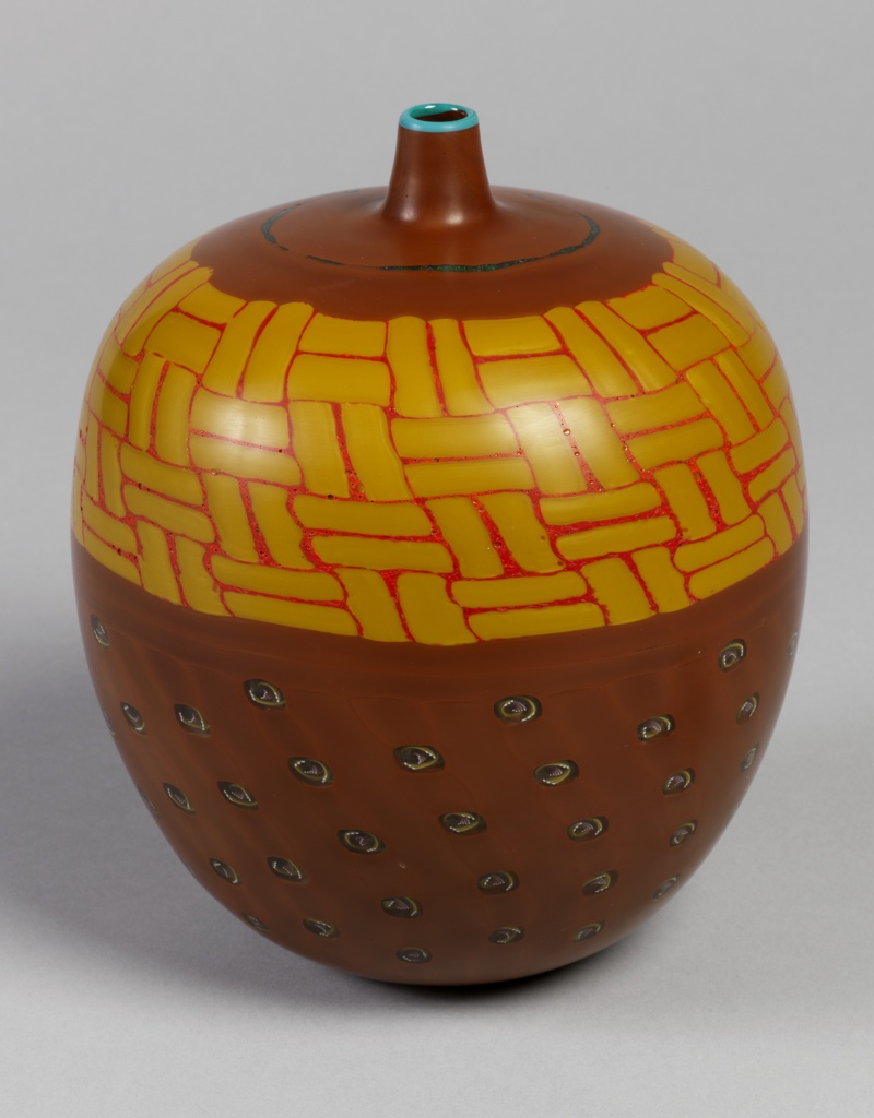 Bambu vase from the Pasta Vitrea Series Vase, 1998