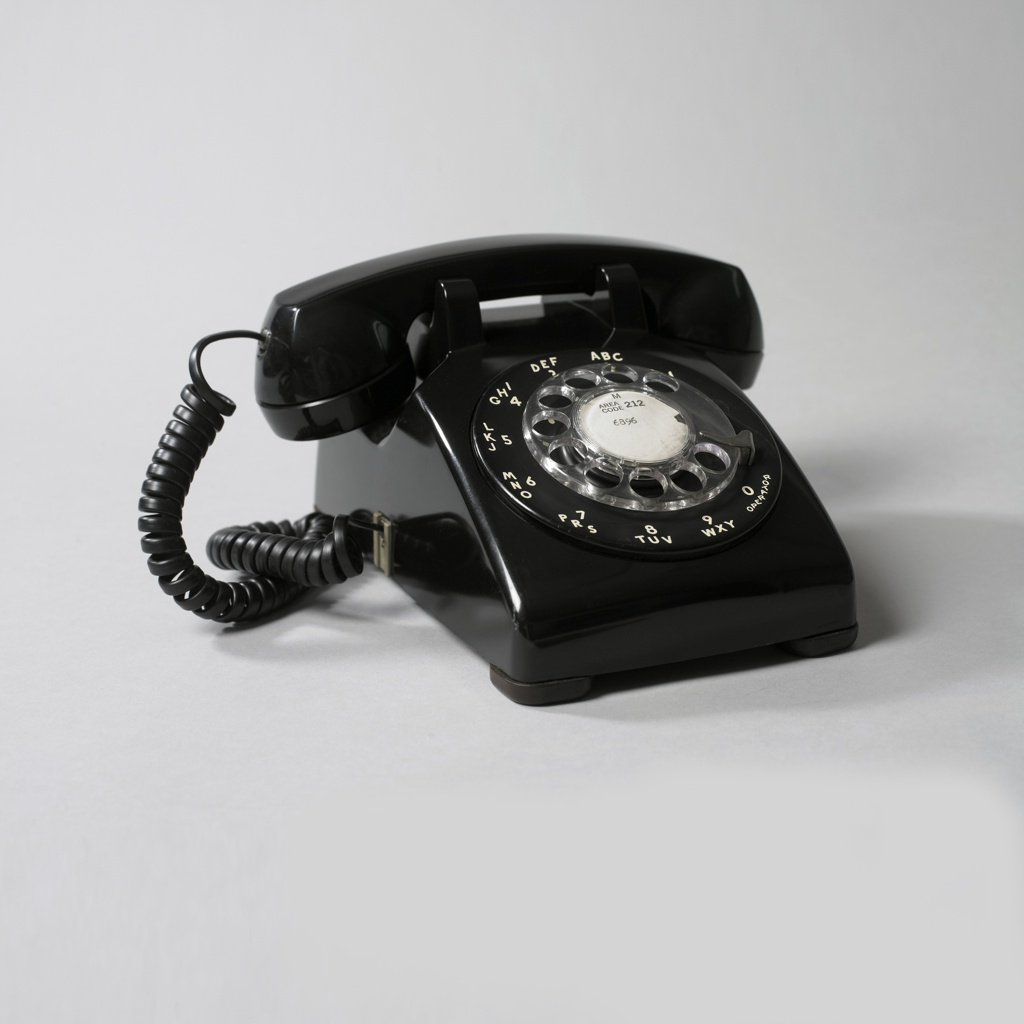 Model  Telephone   Objects  Collection Of Cooper Hewitt