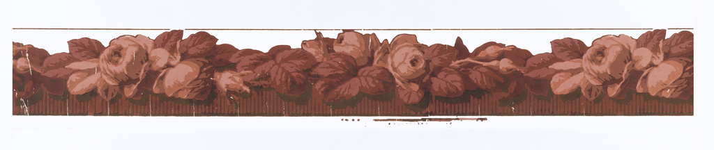 Roses in shades of pink/maroon, to be cut out