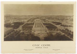 Photograph, Civic Centre, Denver, Colorado