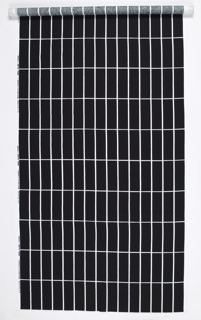 Grid of white lines on black.