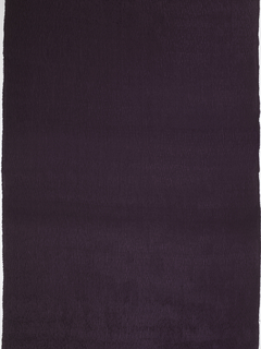 Fine, deep purple silk with woven vertical pleats.