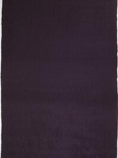 Fine, deep purple silk with woven vertical pleats.