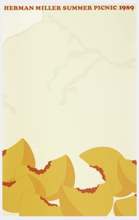 Poster, Herman Miller Summer Picnic, 1989
