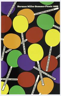 Poster, Herman Miller Summer Picnic, 1988
