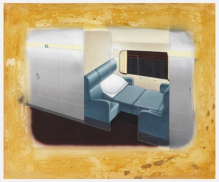 Drawing, Design for Streamline Sleeper Car with Two Seat Compartment