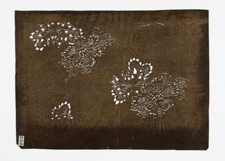 Floral motif.