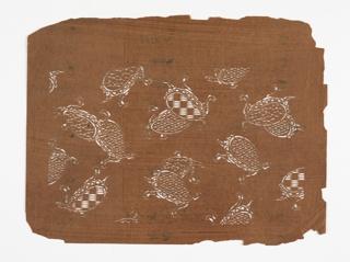 Pattern of turtles.