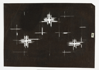 Pattern of several crosses.