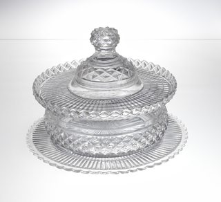 Dish With Lid And Stand (Ireland)
