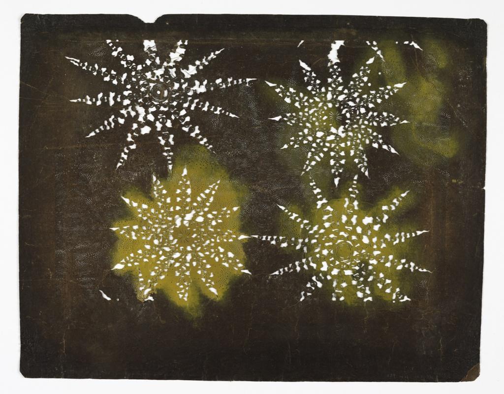 Stencil, Abstract Shibori Effects