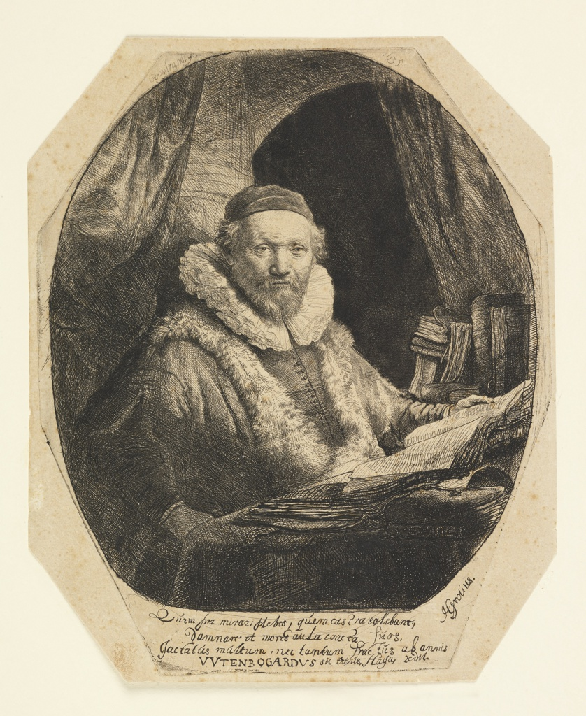Print, Jan Uytenbogaert (1557–1644), Preacher of the Remonstrants