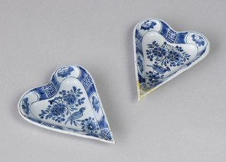Heart-Shaped Sweetmeat Dish Dish