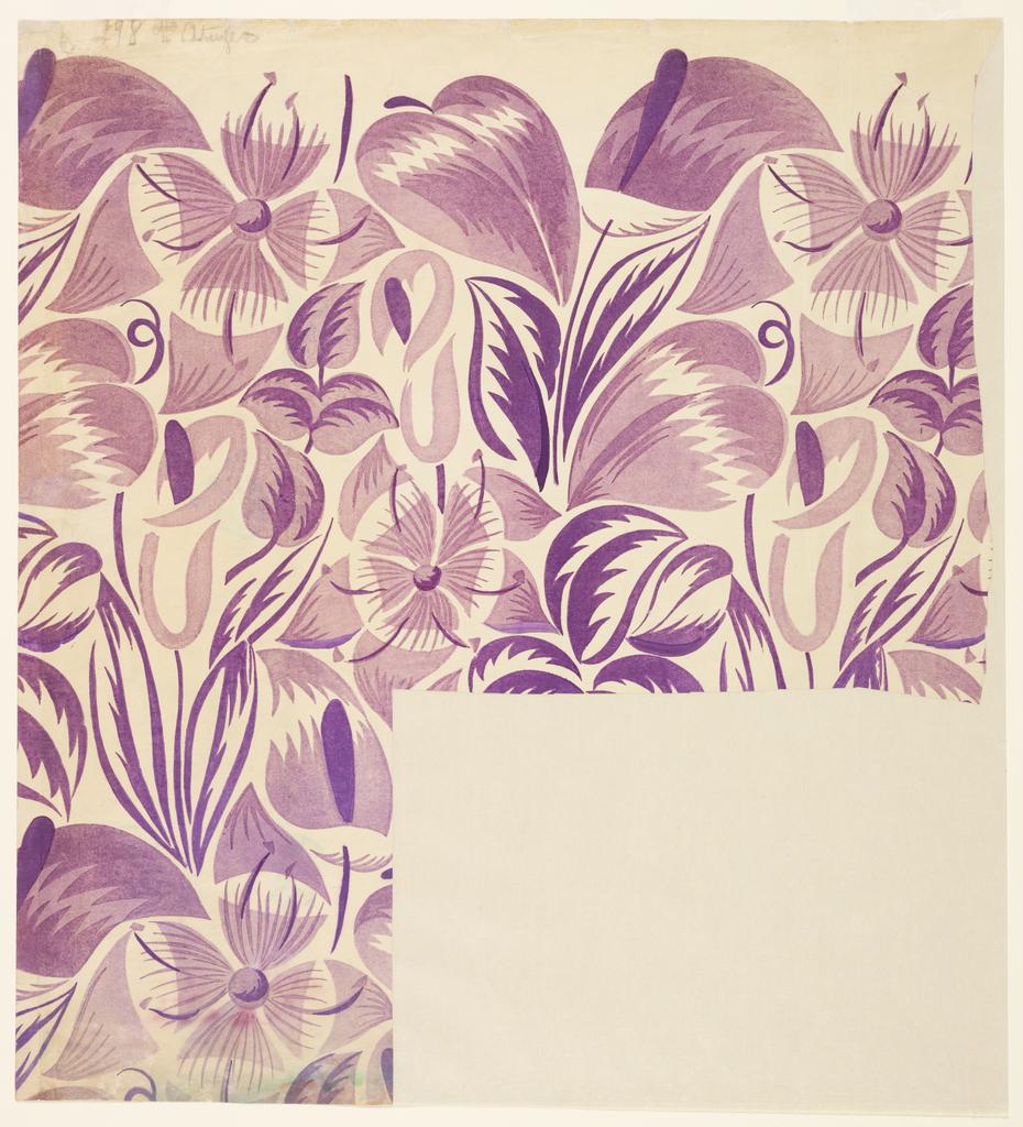 Tropical Flower Designs Drawings