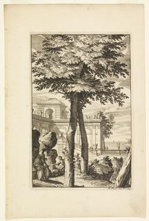 Print, Plate in Nouveaux Livre de Paysages (New Book of Landscapes)