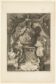 Print, Title Page, Vasses de la Maison Royalle de L'oo Nouvellement (Vessels of the Royal House of L'oo)