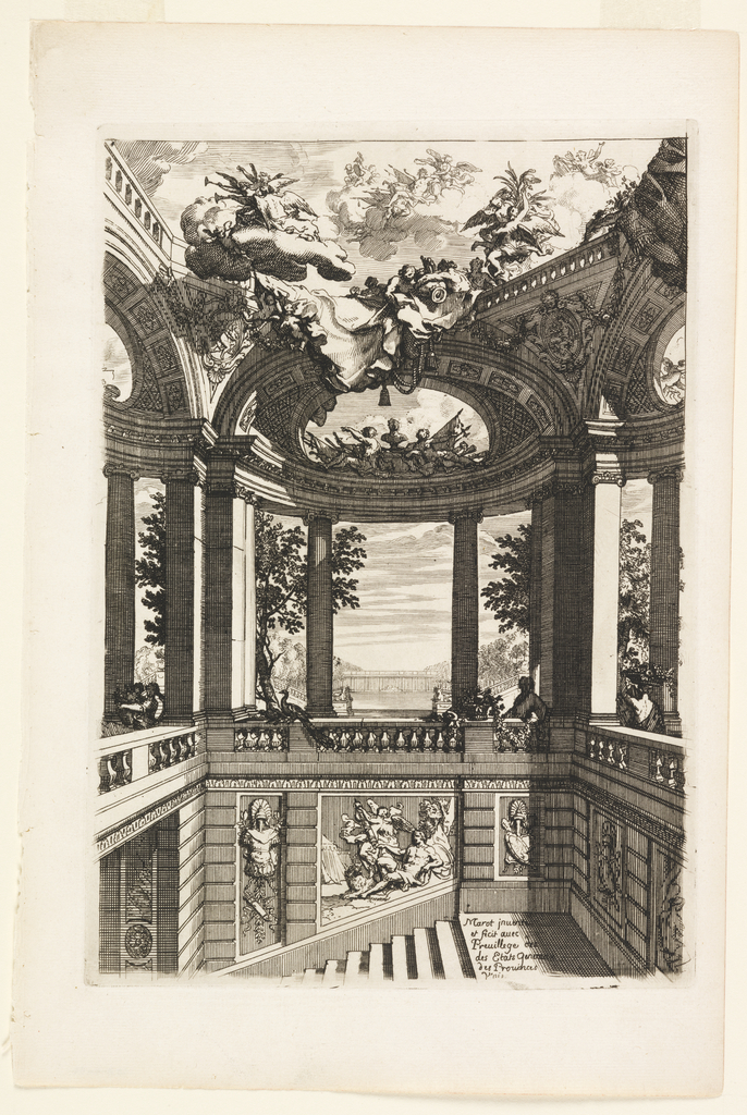 Print, Plate in Nouveaux livres de peintures de salles et d'escaliers (New Books on Paintings for Rooms and Stairs)